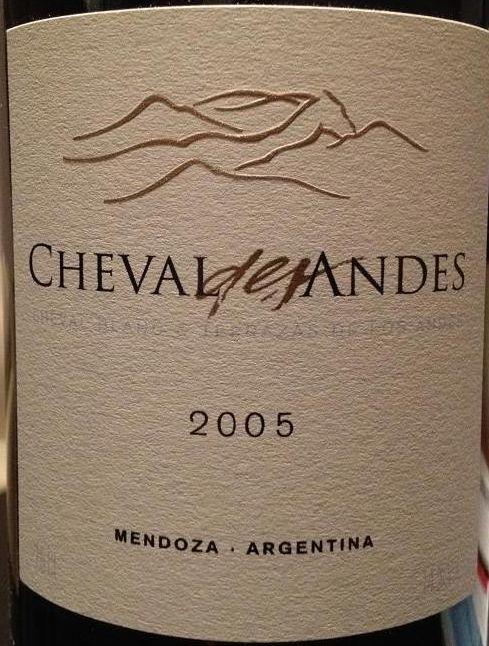 安第斯山白马干红Cheval des Andes