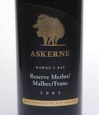 阿克尼珍藏梅洛-马尔贝克干红Askerne Estate Reserve Merlot - Malbec