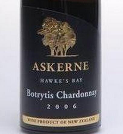 阿克尼霞多丽贵腐甜白Askerne Estate Botrytis Chardonnay