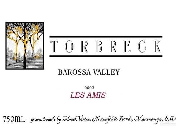 托布雷友人干红Torbreck Les Amis
