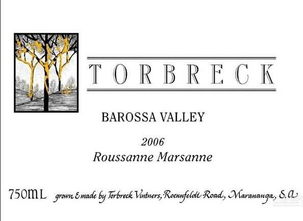 托布雷玛珊-瑚珊干白Torbreck Marsanne - Rousanne