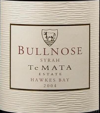 德迈圆角西拉干红Te Mata Estate Bullnose Syrah