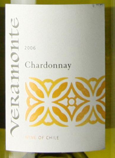 翠岭酒园清纯霞多丽干白Veramonte Chardonnay