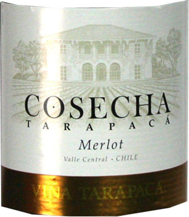 红蔓庄园美乐干红Tarapaca Cosecha Merlot