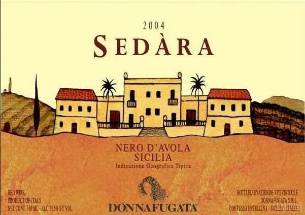 多娜佳塔酒庄赛塔拉干红Donnafugata Sedara Nero d'Avola Sicilia