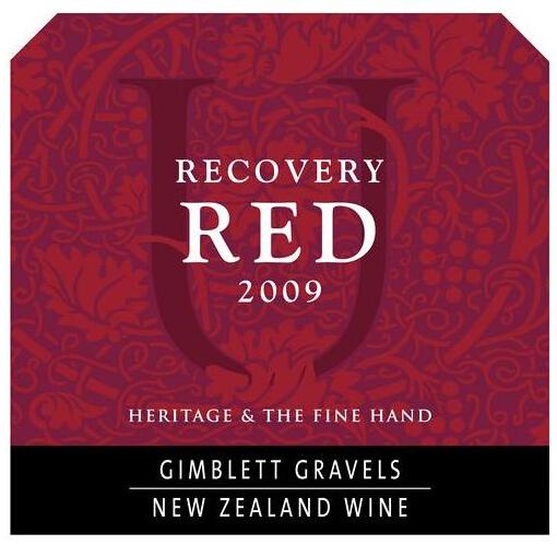 尤尼森吉布利特区复苏干红Unison Vineyard Gimblett Gravels Recovery Red