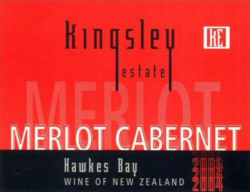 金斯利赤霞珠-梅洛混酿干红Kingsley Estate Cabernet Sauvignon-Merlot