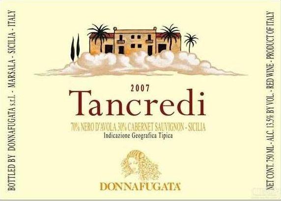 多娜佳塔酒庄梦幻之旅干红Donnafugata Tancredi Contessa Entellina