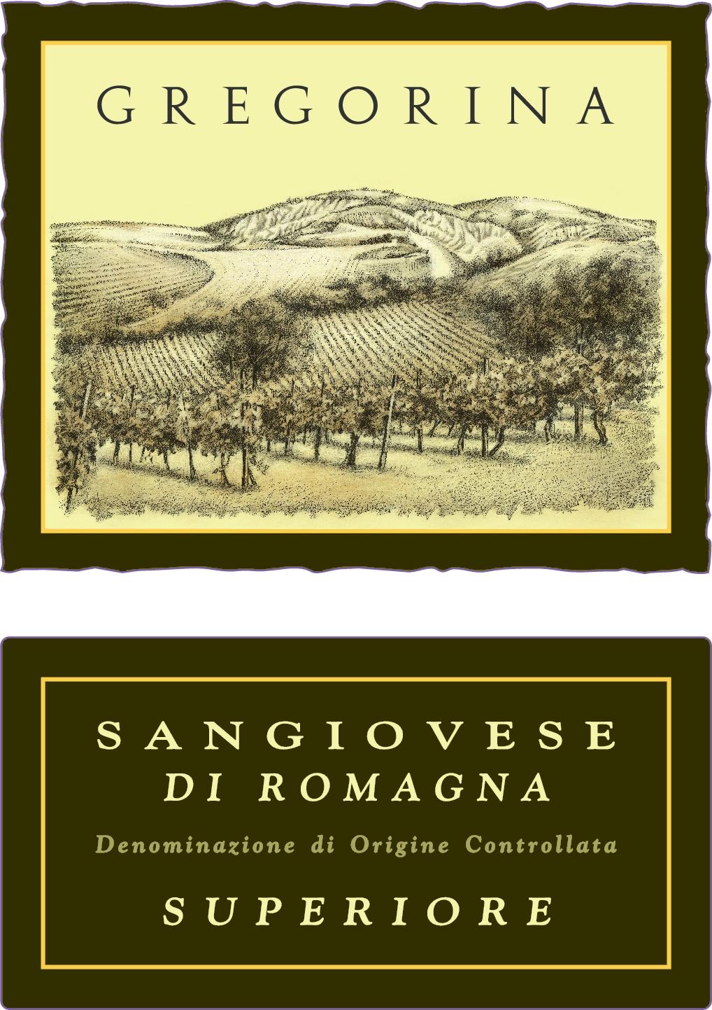 谷丽桑娇维塞干红Gregorina Sangiovese Superiore