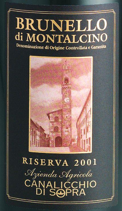 凯来丽可布鲁奈罗蒙塔希诺珍藏干红Canalicchio di Sopra Brunello di Montalcino Riserva