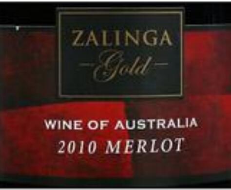 佐林嘉金牌梅洛干红Zalinga Gold Merlot