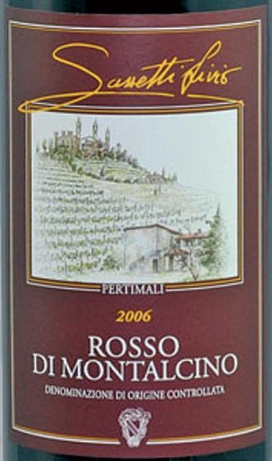 萨塞蒂蒙塔希诺干红Livio Sassetti Pertimali Rosso di Montalcino