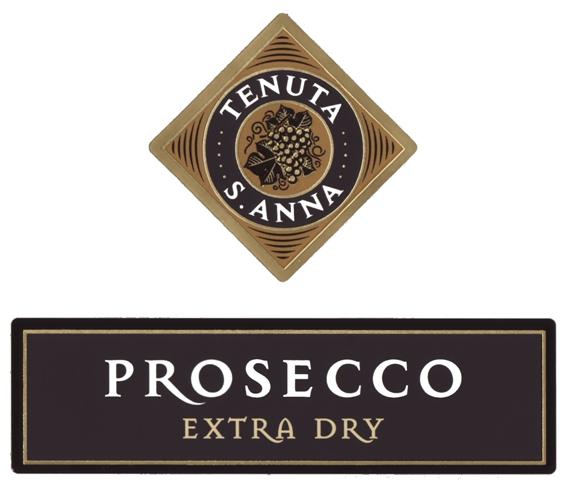 圣安娜普罗塞克超天然起泡Tenuta S. Anna Prosecco Extra Dry