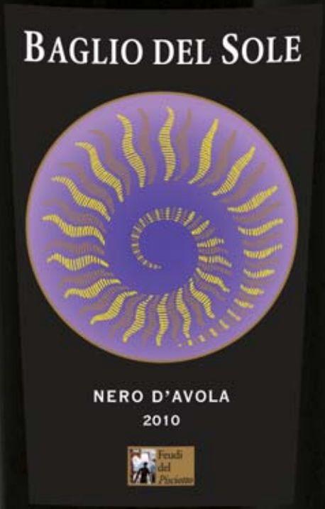 西西里艳阳黑珍珠干红Baglio del Sole Nero d'Avola