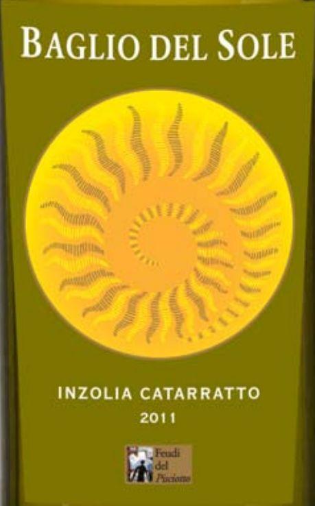 西西里艳阳尹卓莉亚卡塔拉托干白Baglio del Sole Inzolia Catarratto