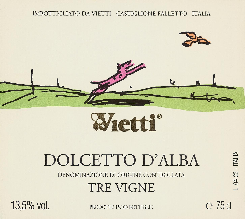 维埃蒂特雷维涅阿尔巴多姿桃干红Vietti Dolcetto d'Alba Tre Vigne