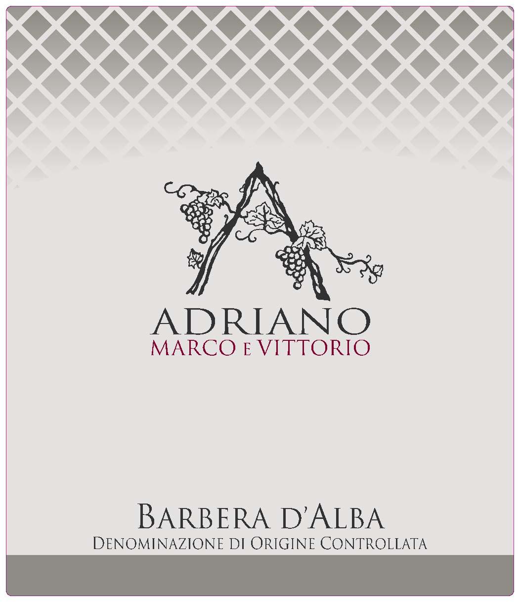 阿维巴贝拉干红Adriano Marco e Vittorio Barbera D'Alba