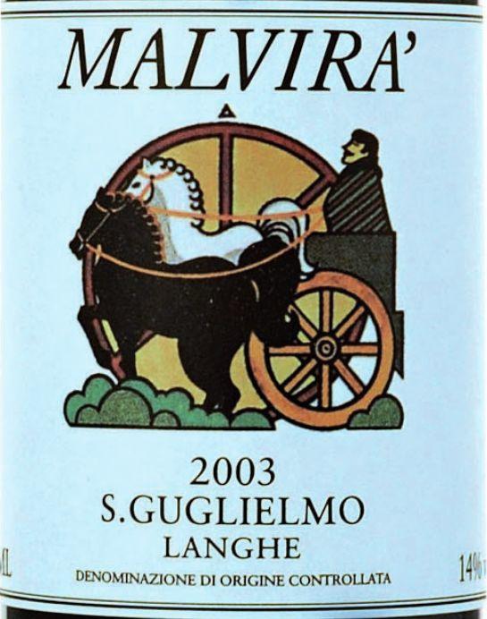 马尔维纳朗格圣古列尔莫干红Malvira Langhe Rosso San Guglielmo