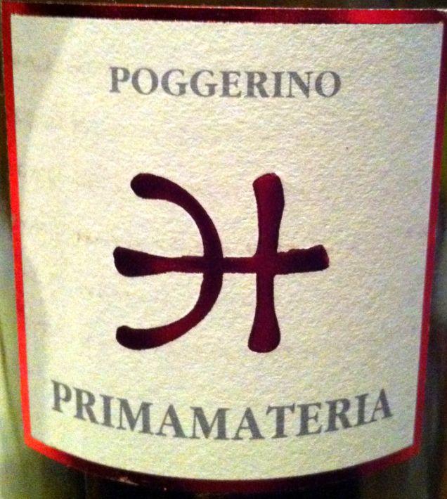 波杰利诺普里马迪亚干红Poggerino Primamateria