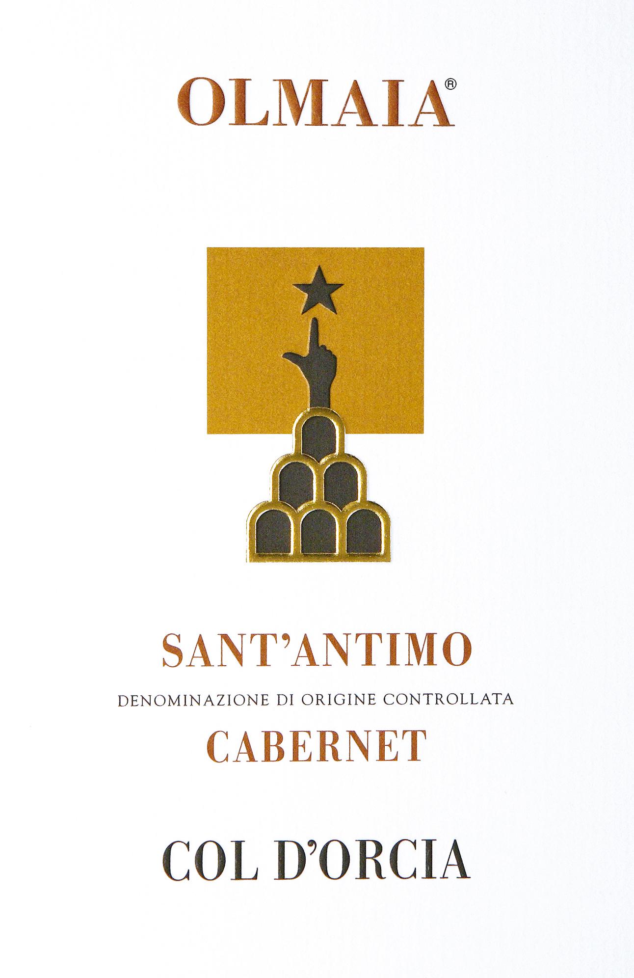 道尔恰奥尔玛伊亚圣安蒂莫赤霞珠干红Col d'Orcia Olmaia Sant'Antimo Cabernet