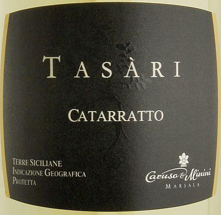 卡鲁索-米尼尼塔萨瑞卡塔拉托白Caruso & Minini Tasari Catarratto