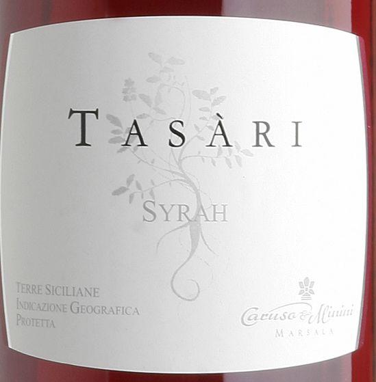 卡鲁索-米尼尼塔萨瑞西拉桃红Caruso & Minini Tasari Rose Syrah