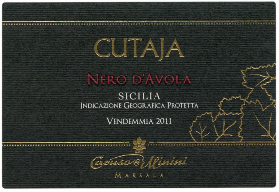 卡鲁索-米尼尼库塔亚黑珍珠干红Caruso & Minini Cutaja Nero d'Avola