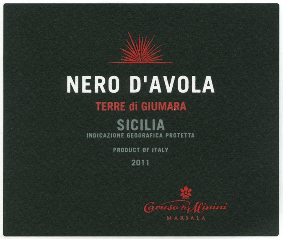 卡鲁索-米尼尼吉玛拉黑珍珠干红Caruso & Minini Terre di Guimara Nero d'Avola