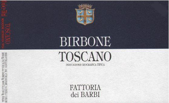 芭比比尔博内托斯卡诺干红Fattoria dei Barbi Birbone Toscano