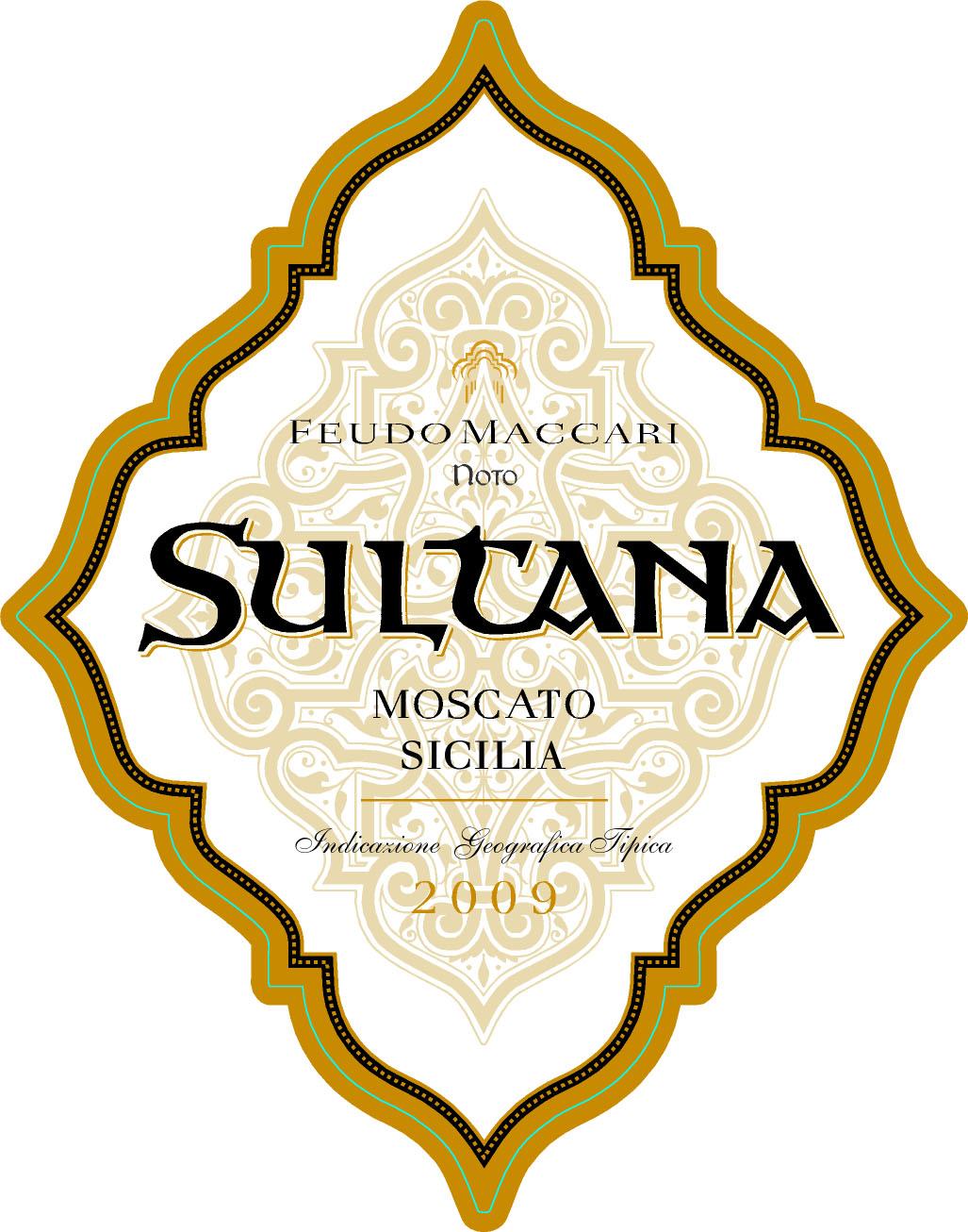 马卡尼苏塔娜干白Feudo Maccari Sultana Moscato Sicilia