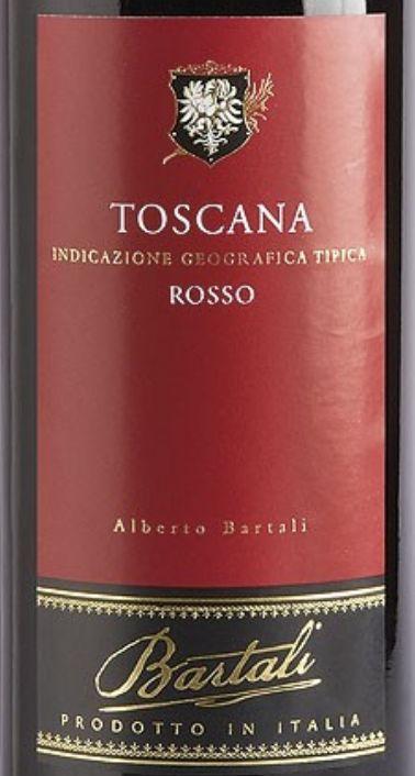 巴塔里阿贝多托斯卡纳干红Bartali Alberto Bartali Rosso Toscana