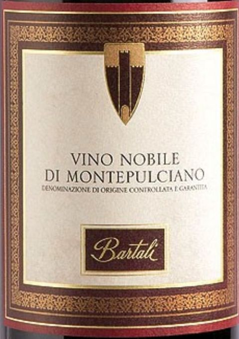 巴塔里蒙特布查诺贵族干红Bartali Vino Nobile di Montepulciano