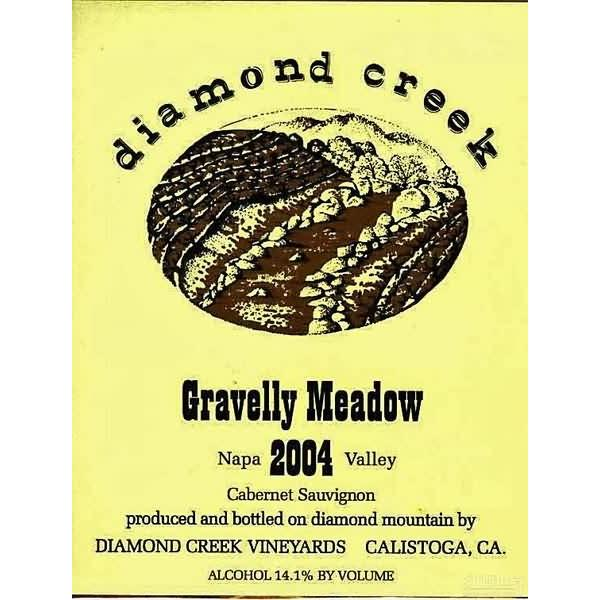 钻石溪碎石草原园赤霞珠干红Diamond Creek Gravelly Meadow Cabernet Sauvignon