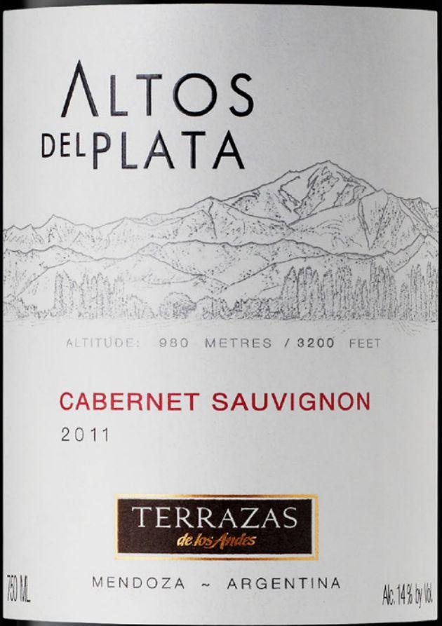 安第斯台阶普拉塔高原赤霞珠干红 Terrazas de los Andes Altos Del Plata Cabernet Sauvignon