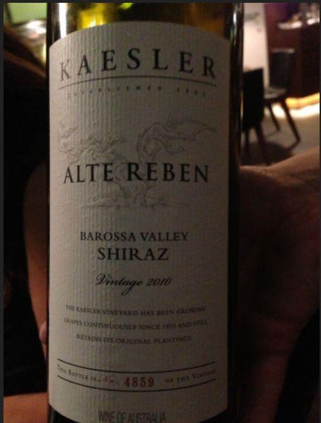 凯斯勒雷鹏设拉子干红Kaesler Alte Reben Shiraz
