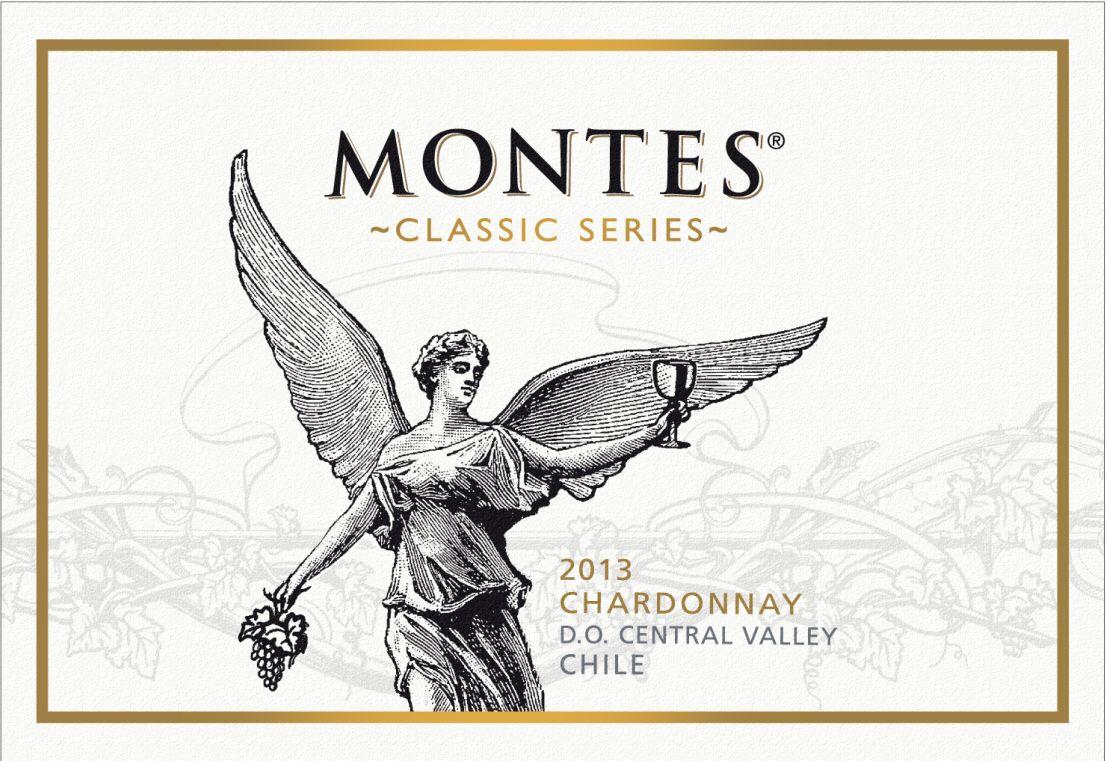 蒙特斯经典霞多丽干白Montes Classic Series Chardonnay