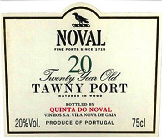飞鸟园20年茶色波特Quinta do Noval 20 Years Old Tawny Port