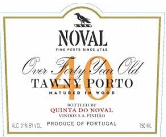 飞鸟园40年茶色波特Quinta do Noval 40 Year Old Tawny Port