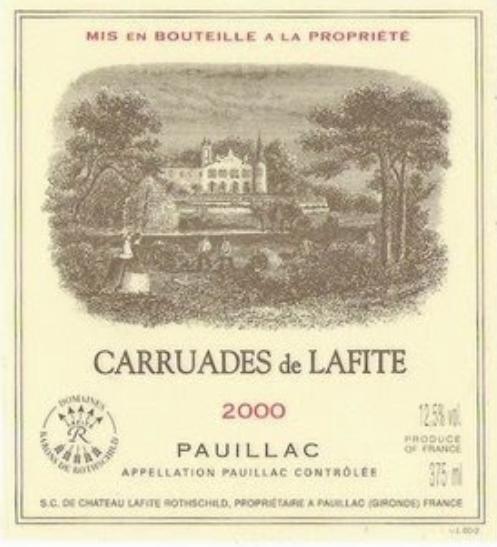 拉菲珍寶干紅Carruades de Lafite