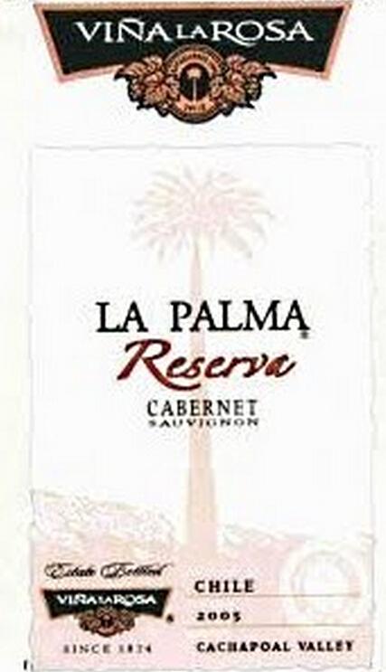 罗莎澎马珍藏佳美娜干红Vina la Rosa La Palma Reserva Carmenere