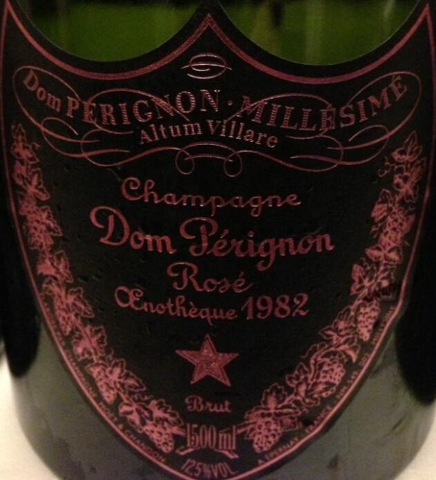 唐·培里侬特酿桃红Champagne Dom Perignon Oenotheque Rose