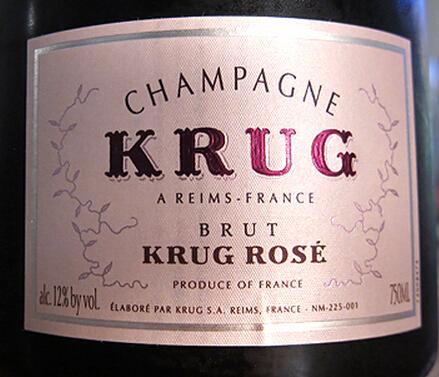 库克粉红香槟Champagne Krug Rose