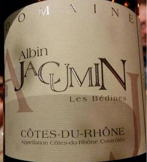 阿尔宾贝丁尼斯干红Domaine Albin Jacumin 'Les Bedines'