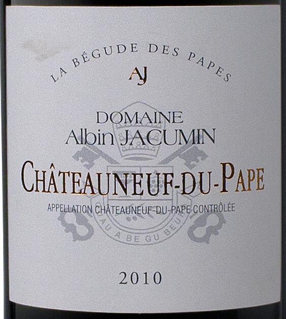 阿尔宾贝古德干红Domaine Albin Jacumin La Begude des Papes Rouge