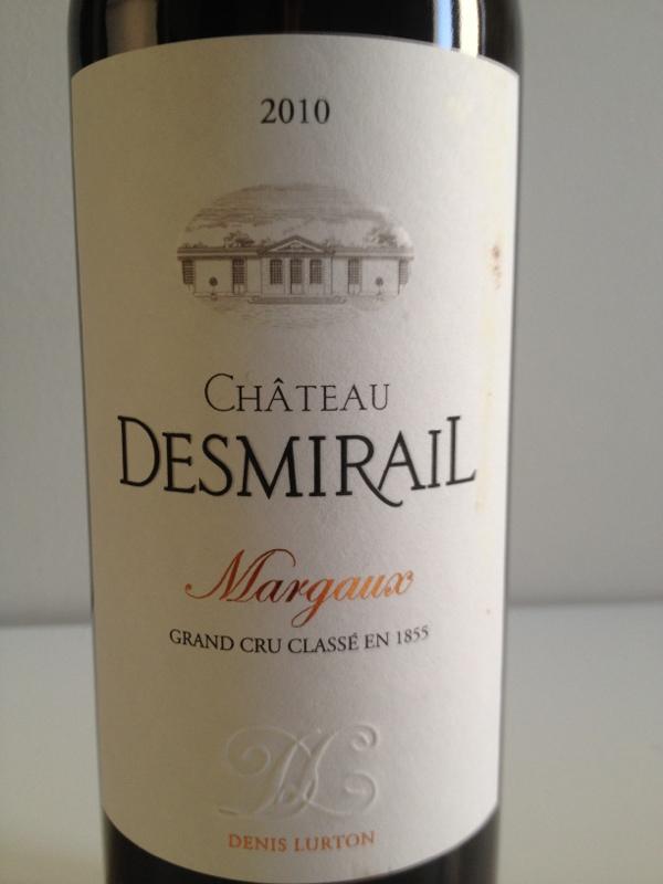 狄士美酒庄干红Chateau Desmirail