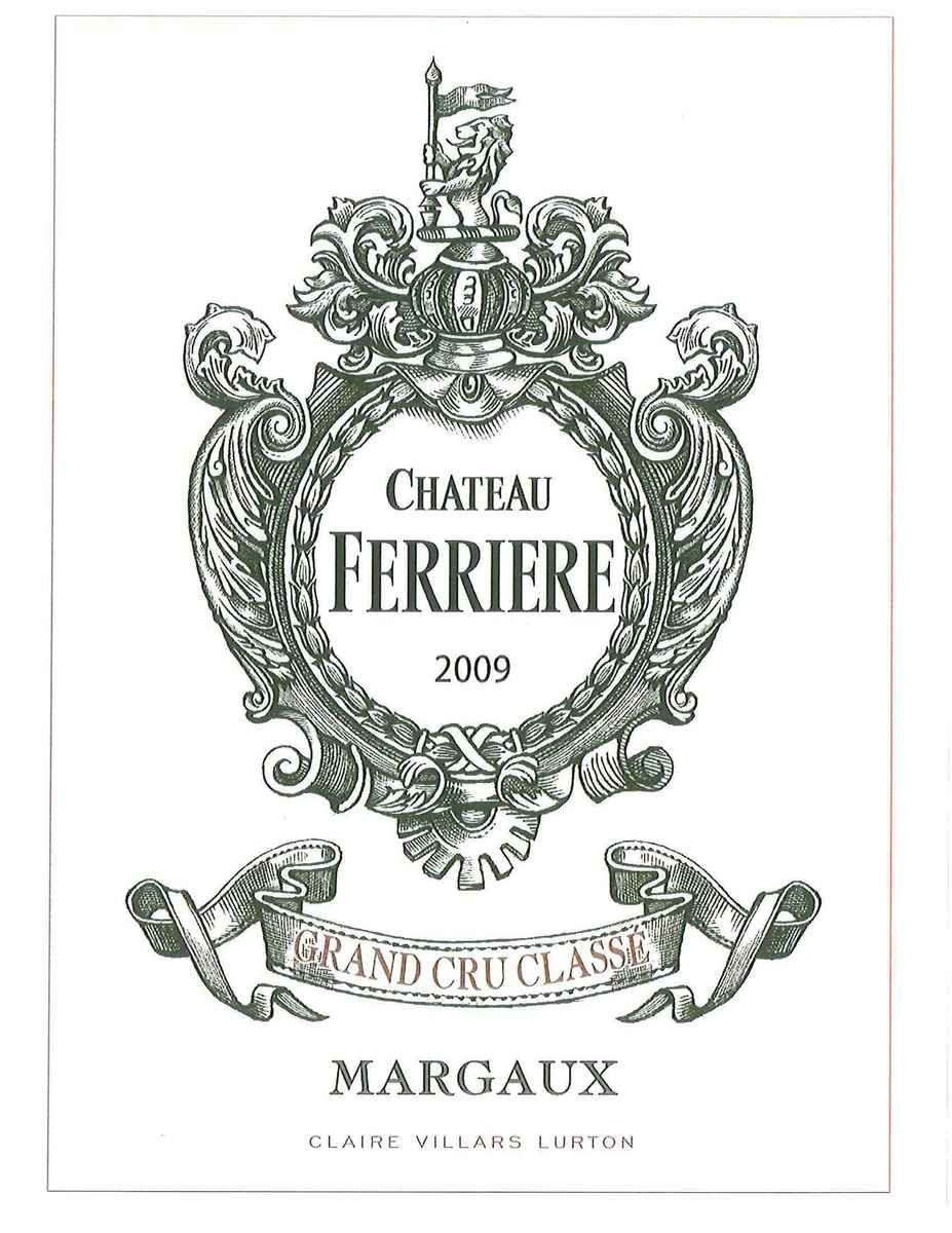 费里埃酒庄干红Chateau Ferriere