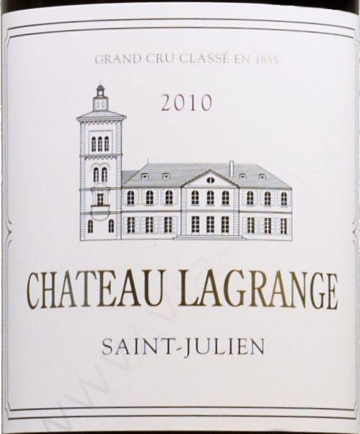 拉格喜酒庄干红Chateau Lagrange