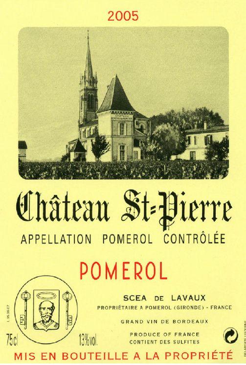圣皮尔酒庄波美侯干红Domaine Saint-Pierre Pomerol