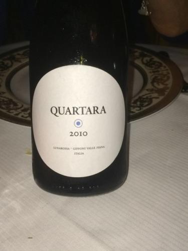 露娜罗莎酒庄古尔塔拉干白Lunarossa  Quartara