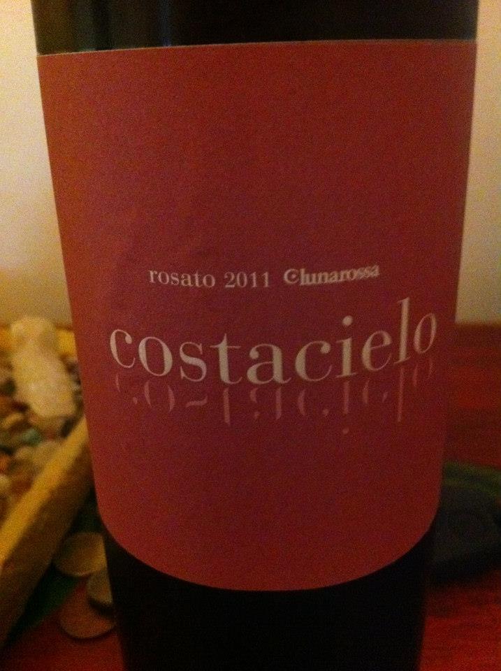 露娜罗莎酒庄柯斯达奇诺桃红Lunarossa Costacielo Uvaggio Rosato